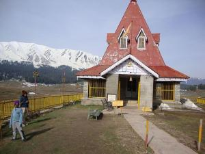 Shiva Temple in Gulmarg