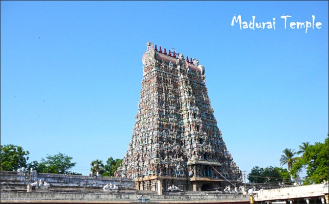 Madurai Temple South India