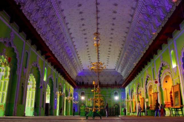 Central Hall of Bara Imambara